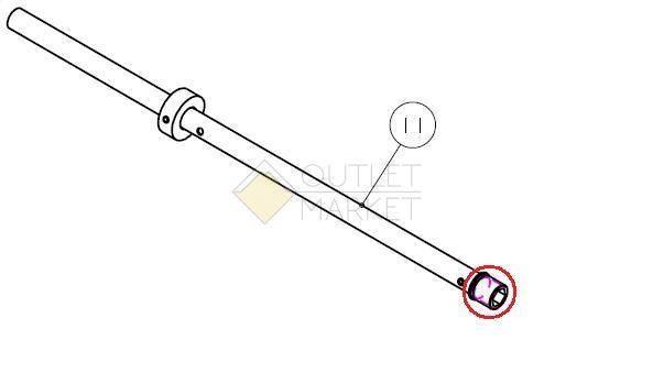 Запчасти для амортизационной  вилки RST воздушный пистон для F1RST AIR 30 RST 1-0940